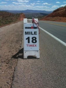 Mile 18 at Ironman® St George