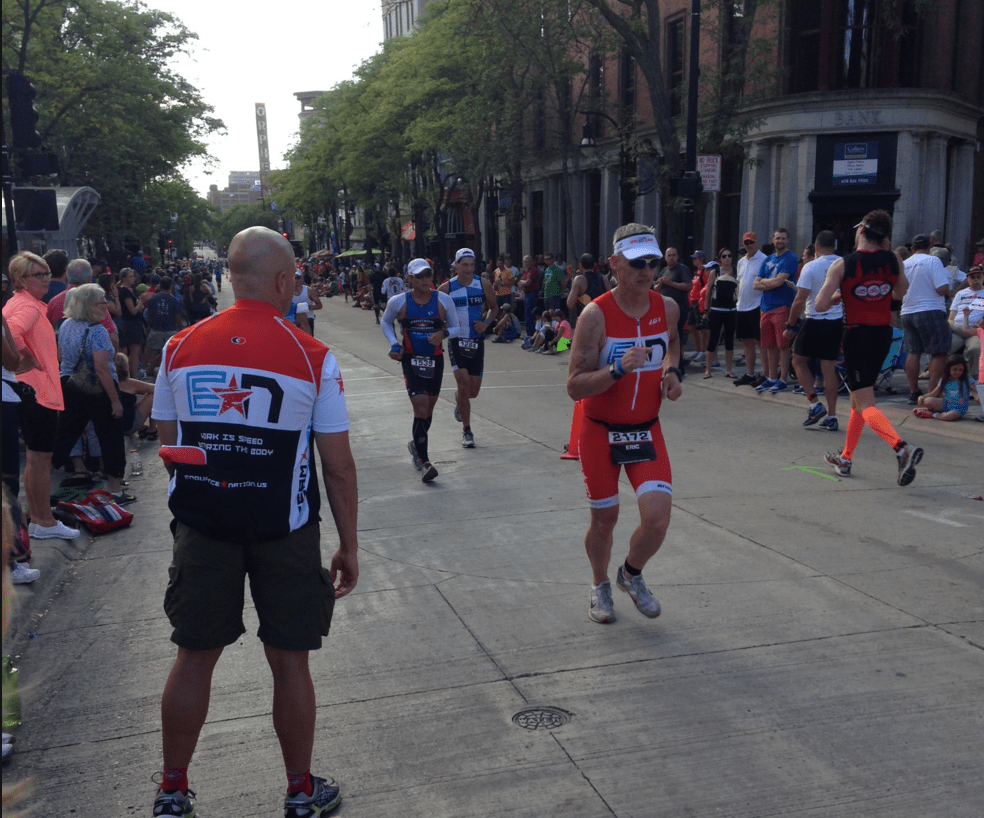 On the Run at Ironman® Wisconsin