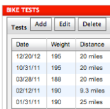 Data Tool to Track Your Swim, Bike & Run Benchmark Workouts
