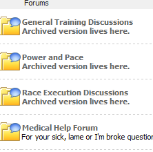 Robust Online Forums