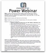 Power Webinar Cover