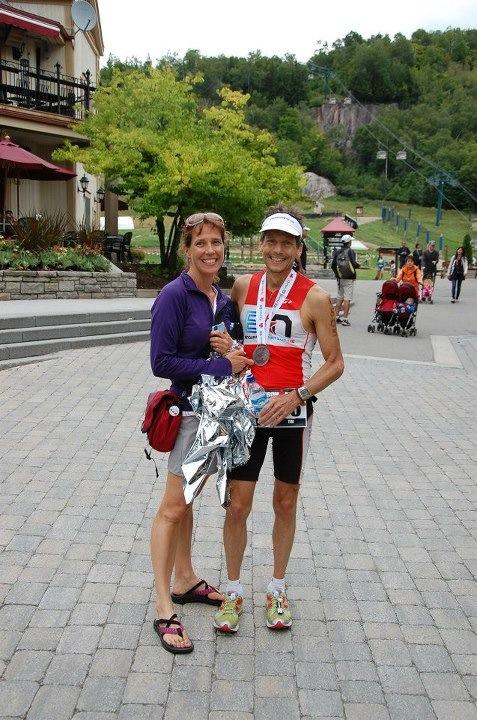 Tim Cronk at Ironman® Mont Treblant