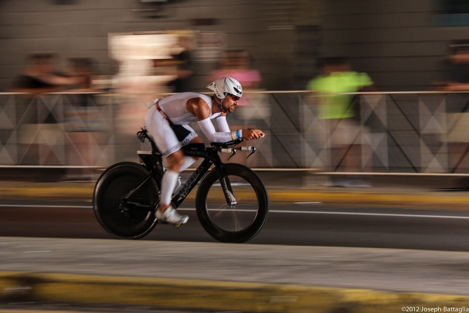 Joel Bell at Ironman® New York City