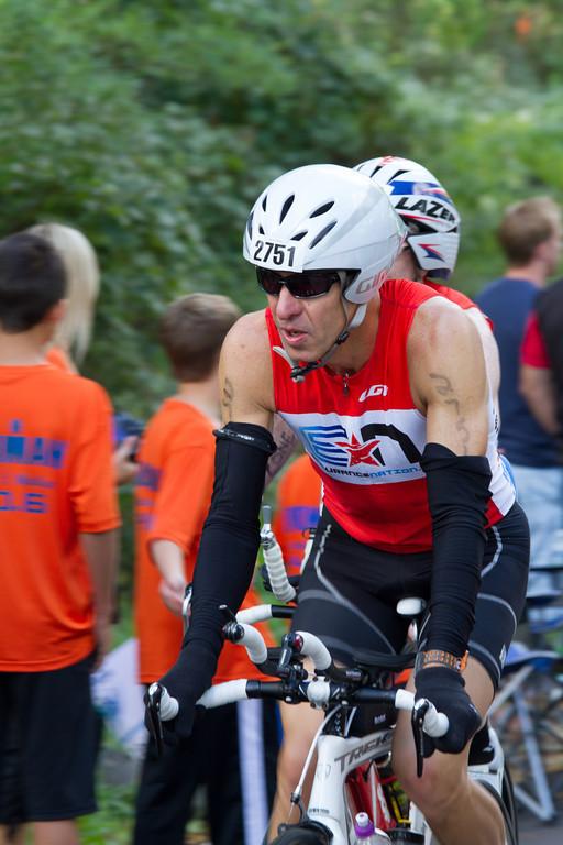 Bruce Thompson at Ironman® Wisconsin