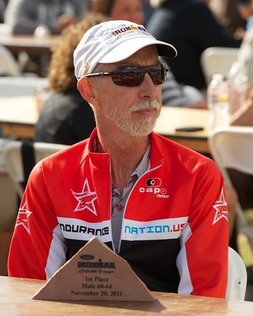 Al Truscott at Ironman Arizona