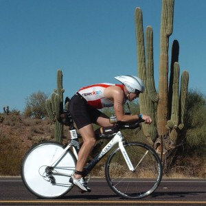 Rian Bogle at Ironman Arizona 2012
