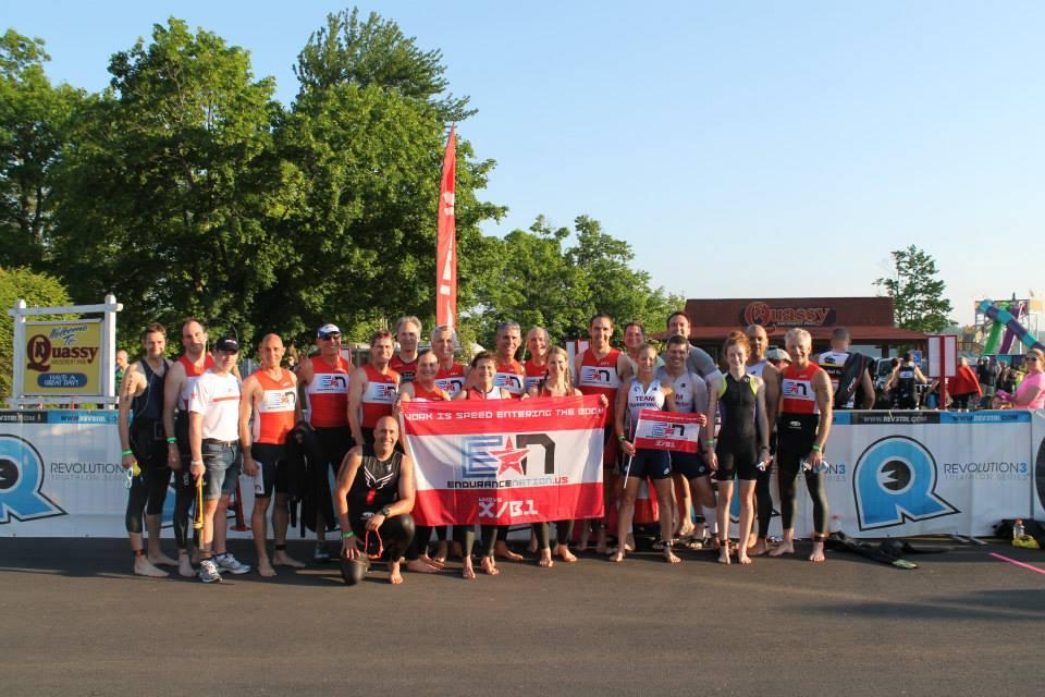 TeamEN at Revolution3 Quassy Triathlon