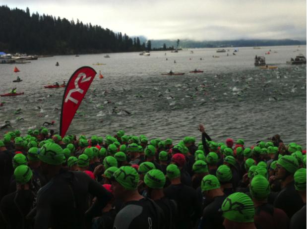 Coeur d'Alene 2013 Swim Start
