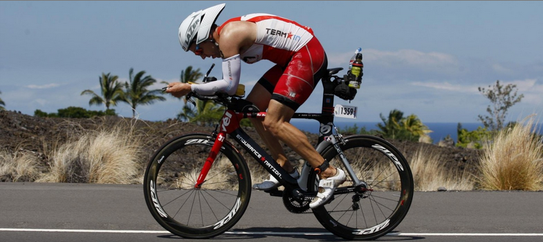 Coach Patrick on the Queen K in Hawaii Ironman