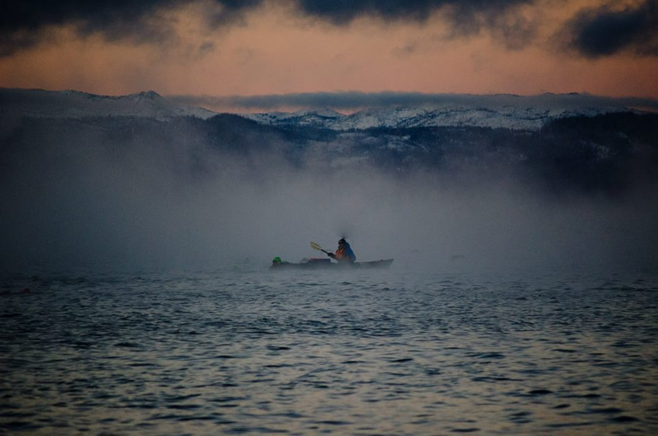 2013 Ironman® Lake Tahoe Kayaker - Steve Hall