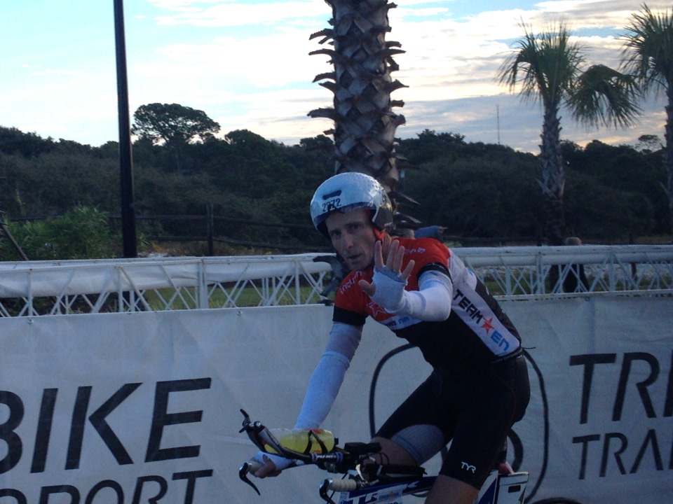 Mike Johnson heads out on the Florida bike!