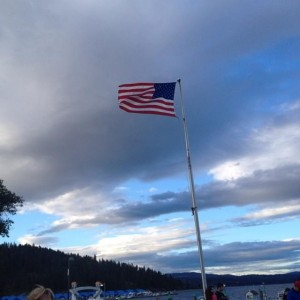 A very windy start to Coeur d'Alene'14
