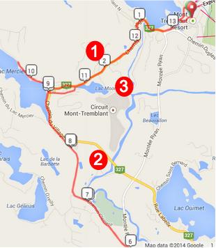 Tremblant Run Course