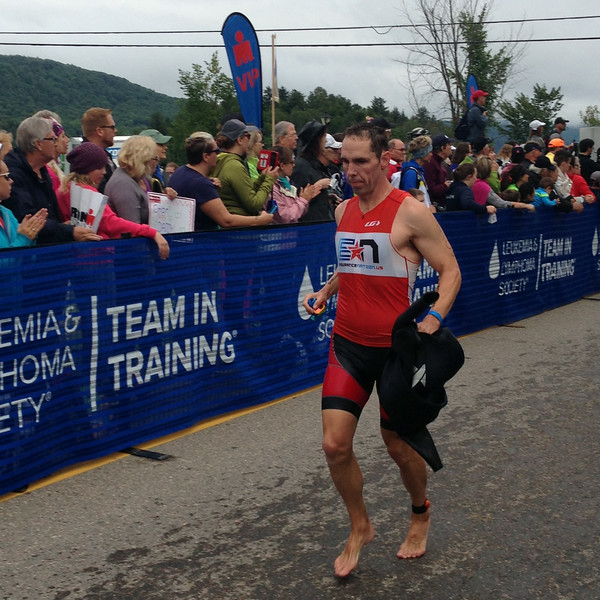 Ironman® Mont Tremblant Post Swim: Coach Patrick of Endurance Nation