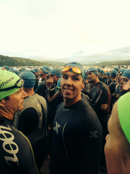 Coach Patrick from Endurance Nation, Pre Swim