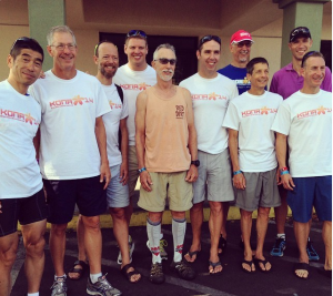 TeamEN at the 2014 Ironman World Championships