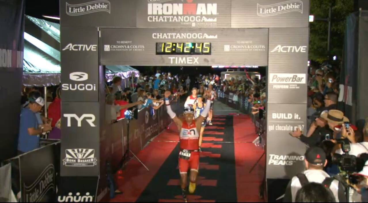 IRONMAN® Chattanooga Race Report: Victor Heredia, 12:10
