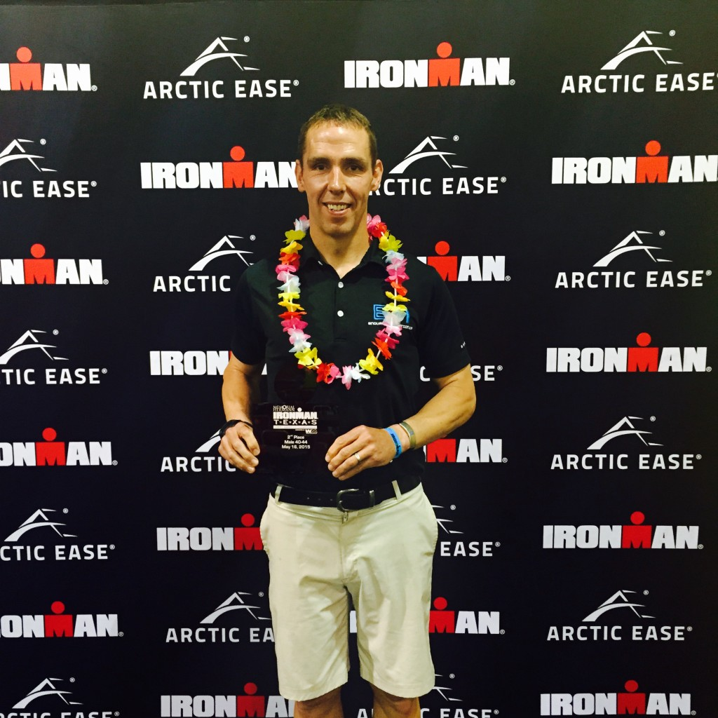 2nd Place Age Group and Kona Bound