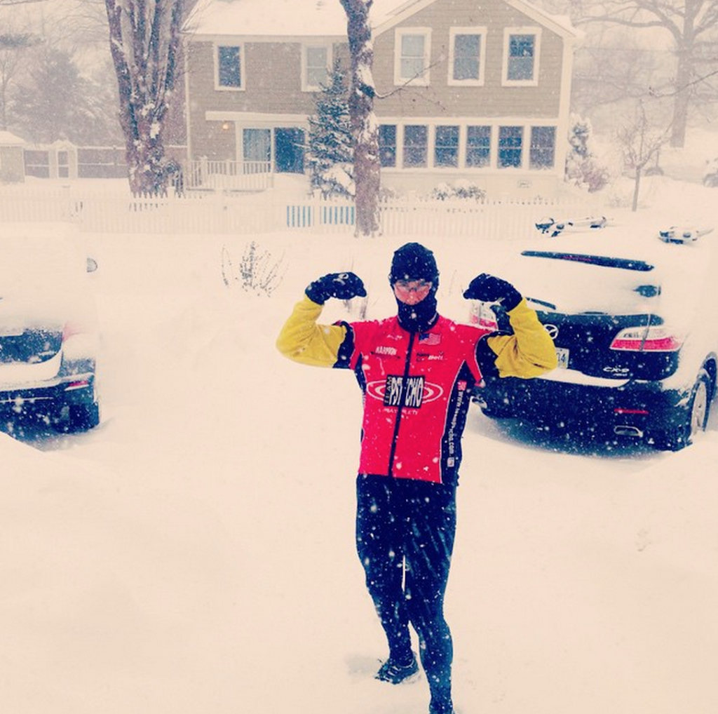 Winter Long Running in Rhode Island