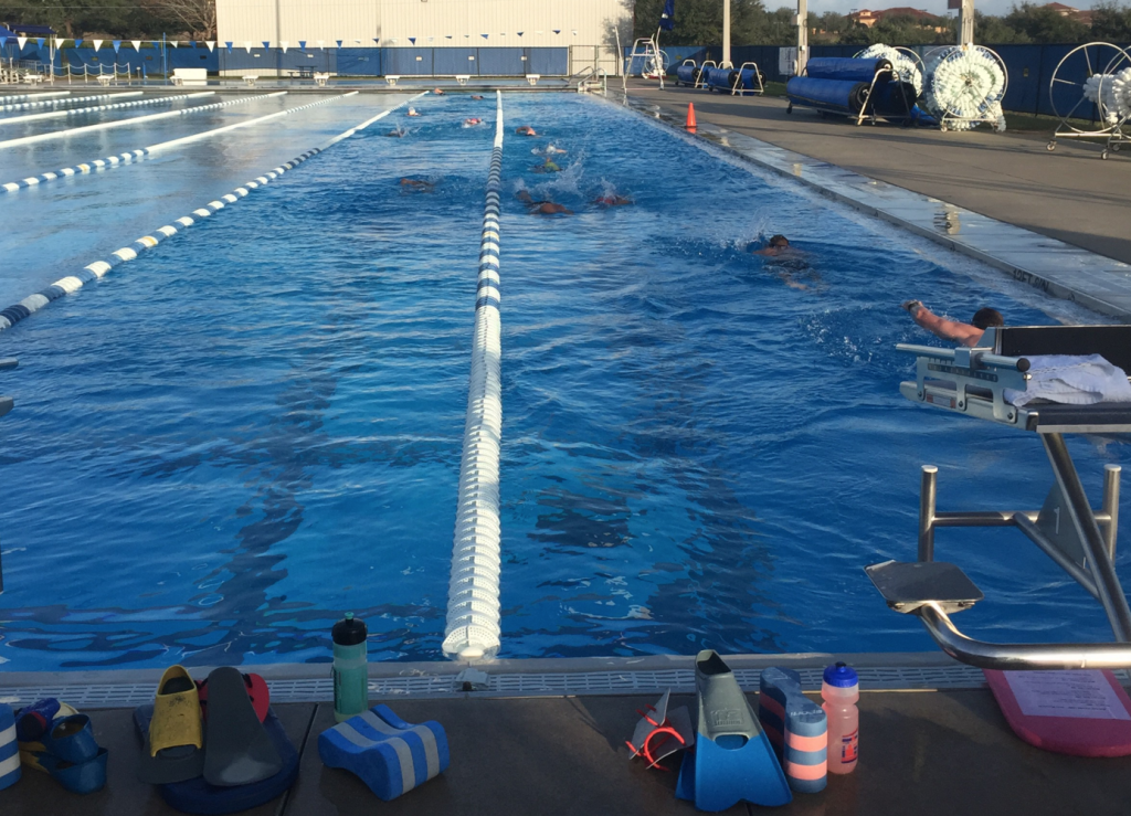 Swim Time at the National Training Center