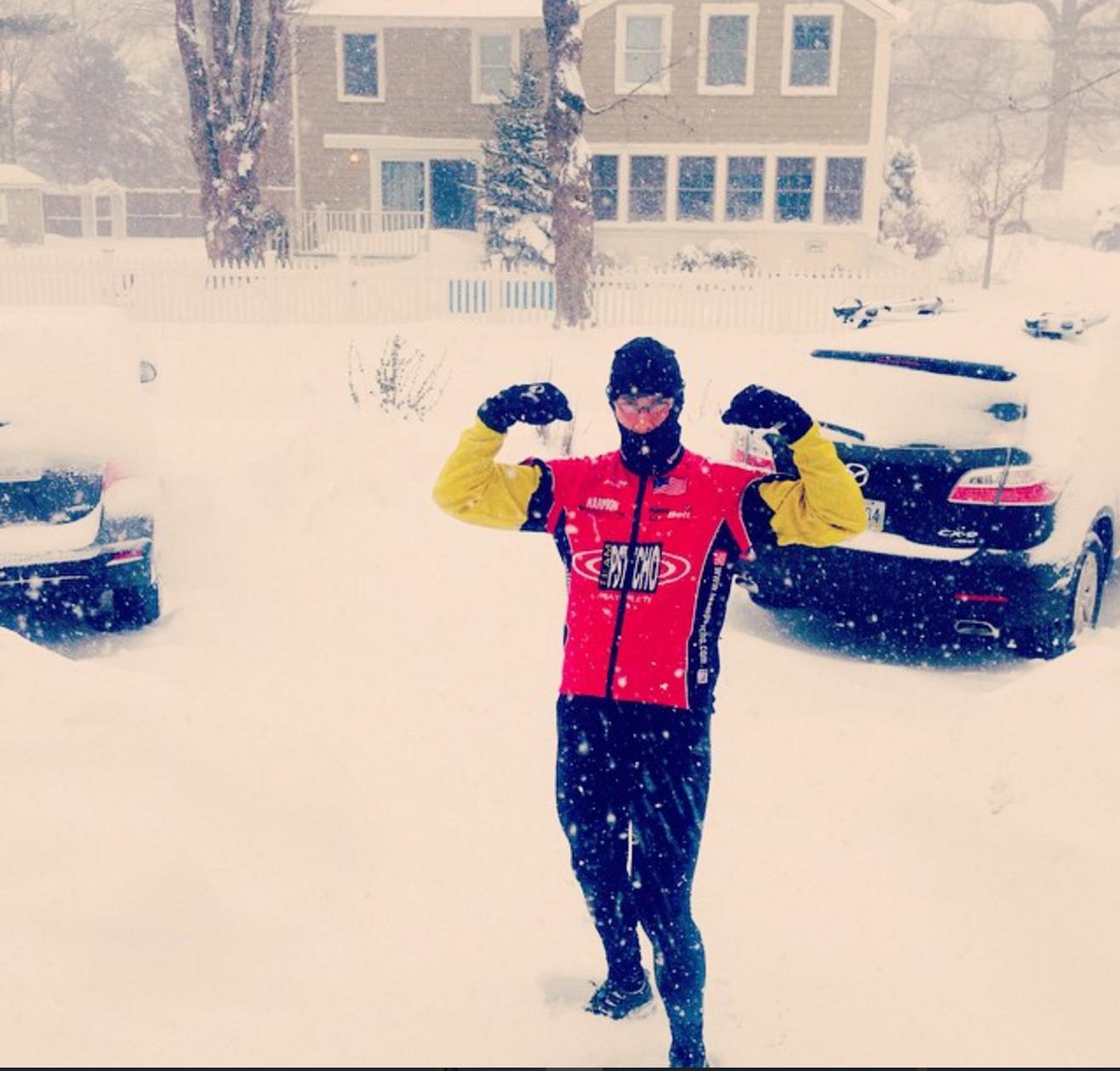 Blizzard Running