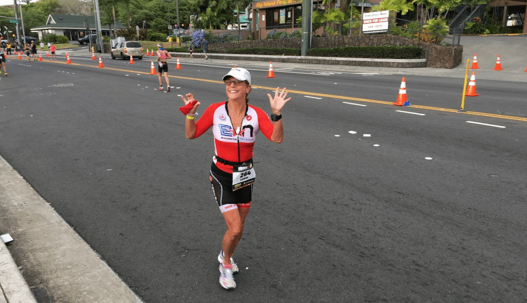 Carol Defazio Running to 5th Place AG