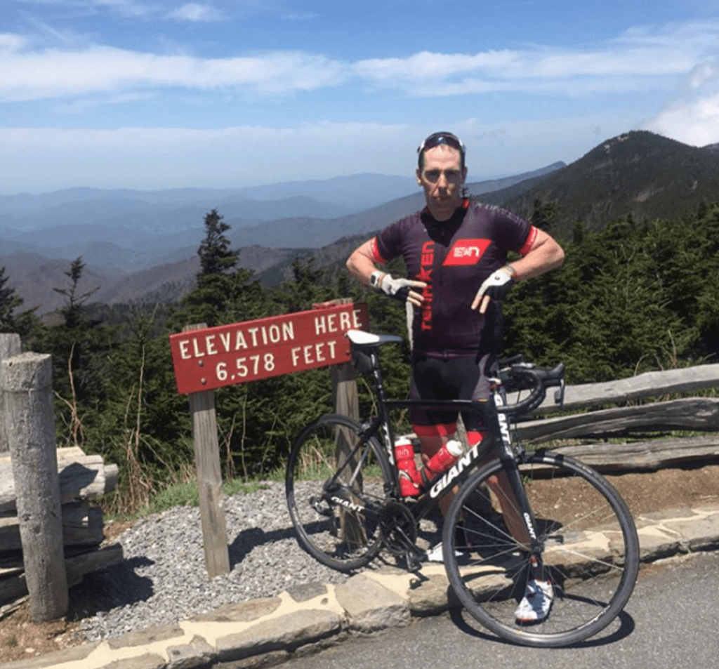 Top of Mount Mitchell Baby!