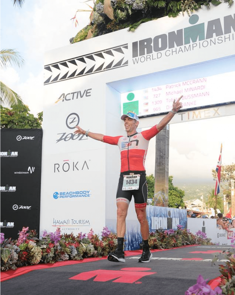 Ironman Finish Line