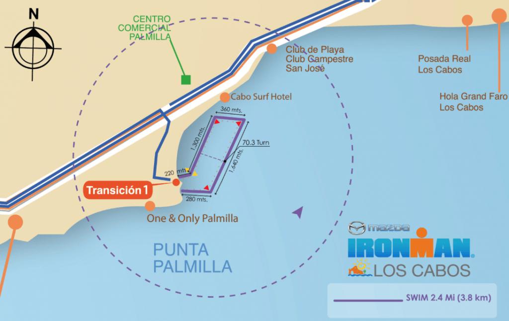 Ironman Los Cabos Swim Course