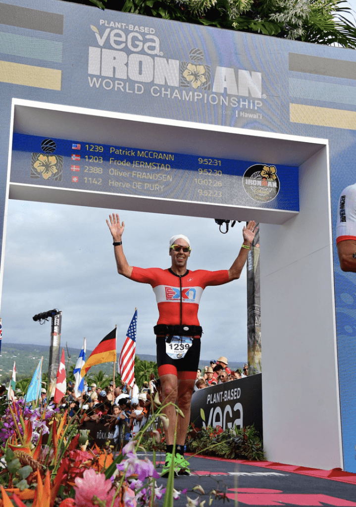 That Finish Line Feeling at Ironman World Championships