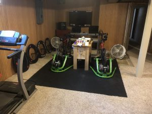 Triathlon Pain Cave