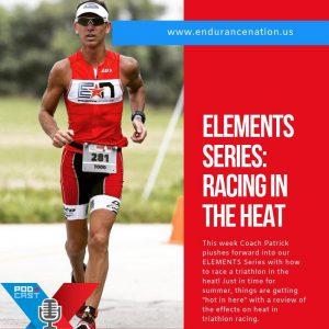 racing a triathlon in the heat
