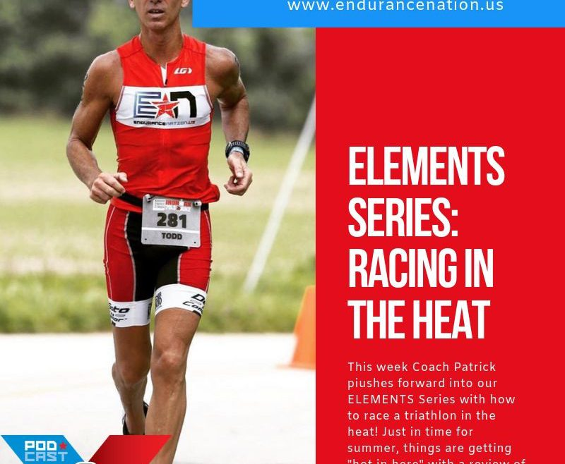 racing a triathlon in the heat
