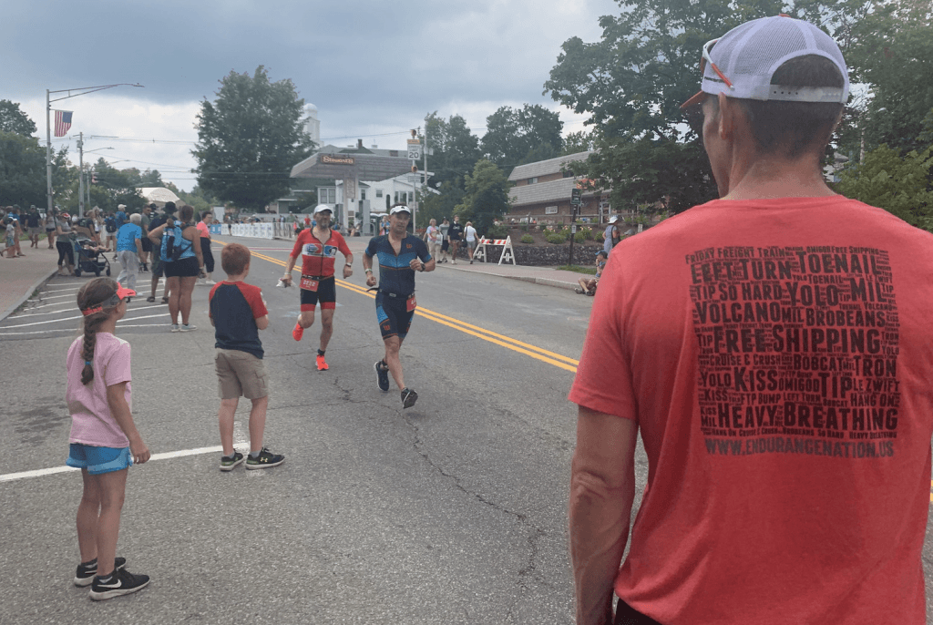 On the Lake Placid Run Course