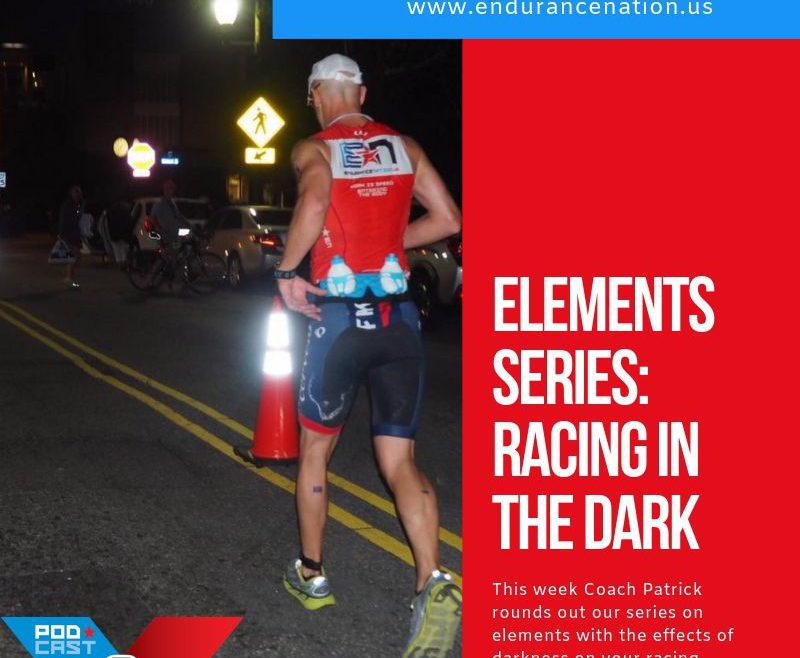 How To Race a Triathlon In The Dark