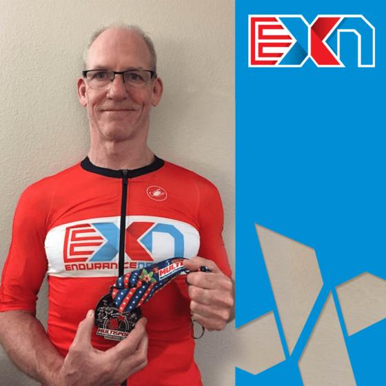 Joe Hallatschek Aquabike Domination with Endurance Nation