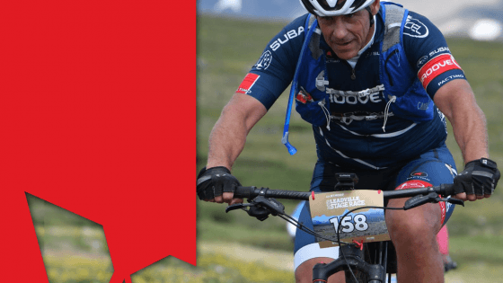 Pat Morton at Leadville 100 MTB
