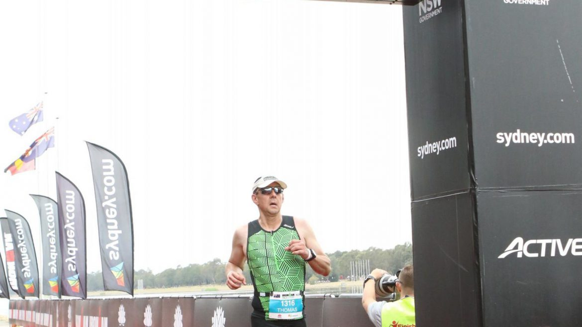 Tom Daemen vs Ironman Sydney 70.3