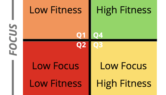 Fitness vs Focus Matrix