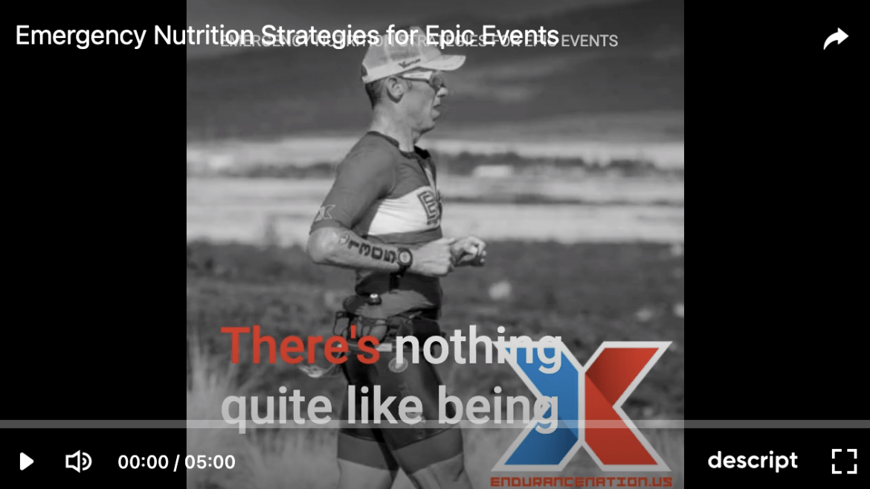 Emergency Nutrition Strategies