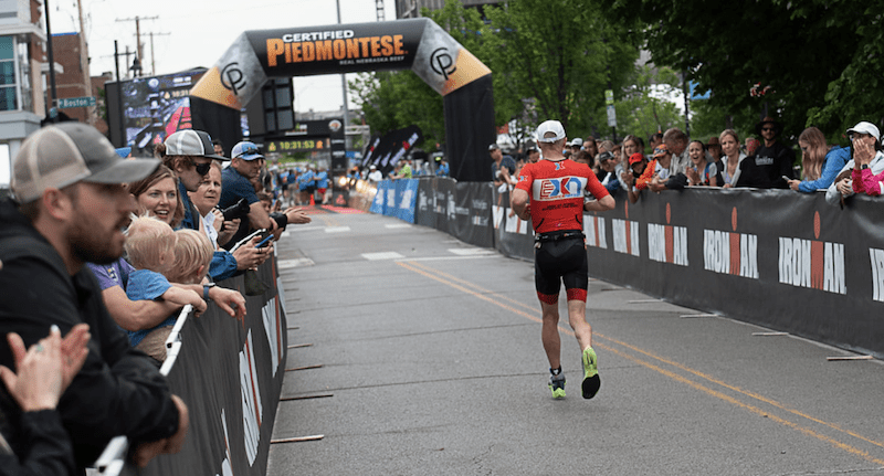 Mike Robets heading to the Tulsa Finish